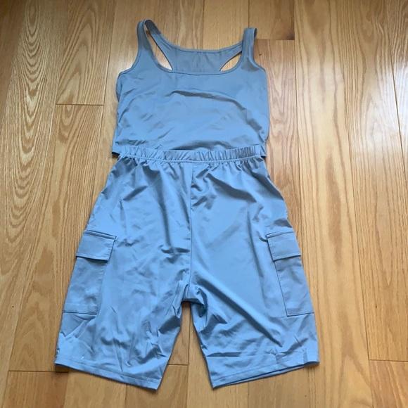 Grey blue ensemble, ROWME, never worn and brandnew